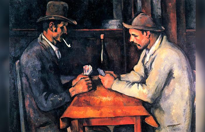Поль Сезанн (картина стоит 250 млн.долл.)