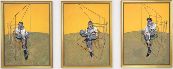 Фрэнсис Бэкон (картина оценена в 142,4 млн. долл.)