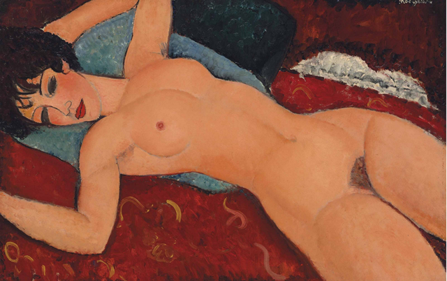 Амедо Модильяни (картина оценена в 170, 4 млн. долл.)