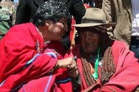 Долгожител из Боливии Кармело Флорес Лаура -123 года