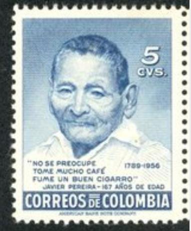 Долгожитель из Колумбии Хавьер Перейра - 167 лет