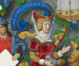Констанция, вторая жена Джона Гонты
