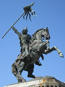Памятник Вильгельму Завоевателю в Фалезе