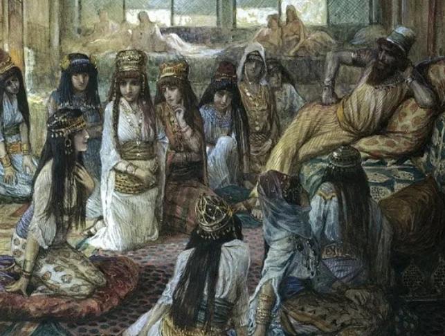 Соломон в гарем