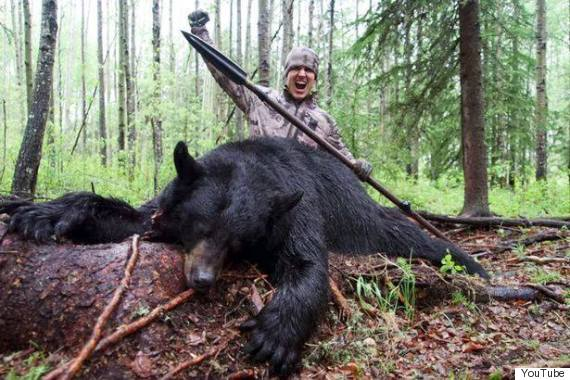 Победил медведя