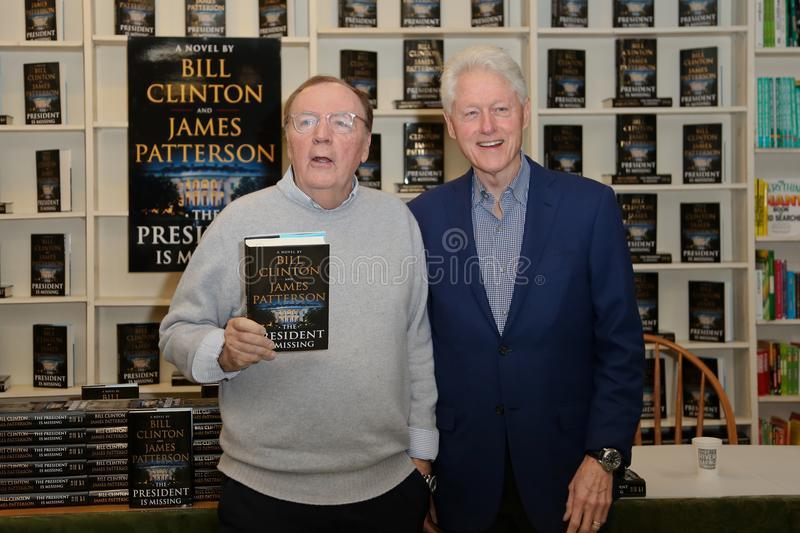 Джеймс Питтерсон и Билл Клинтон