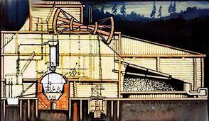 Паровой двигатель Ползунова