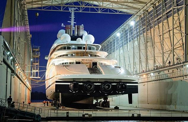 Крутая супер-яхта Романа Абрамовича за 1,2 млрд.долл.