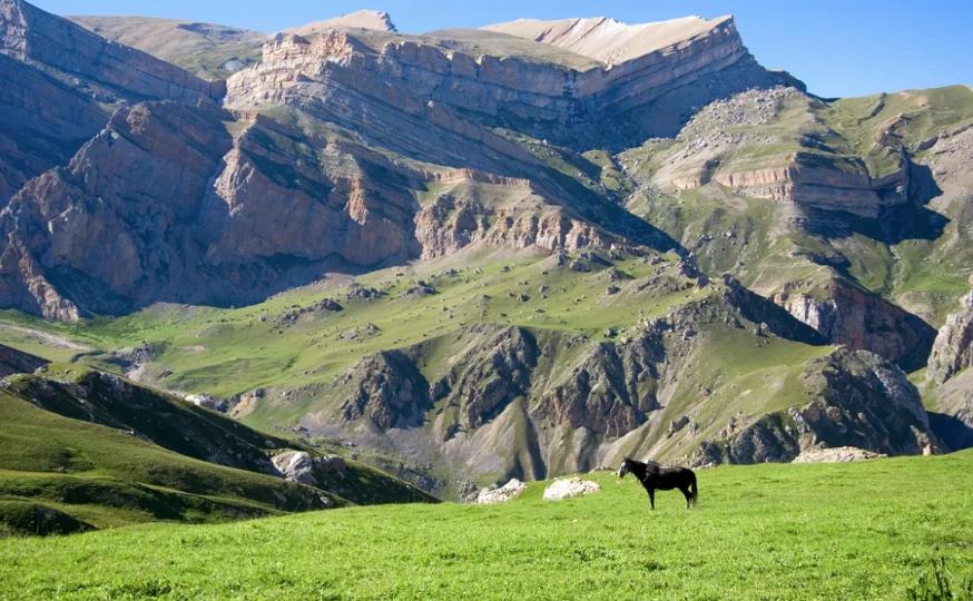 Горы Азербайджана