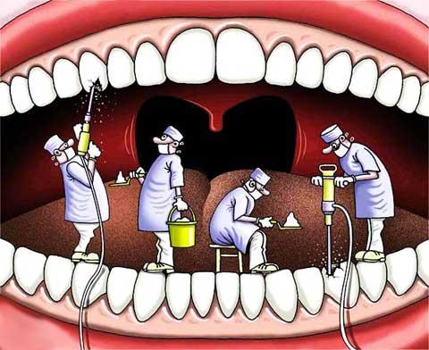 Зубы и наше тело